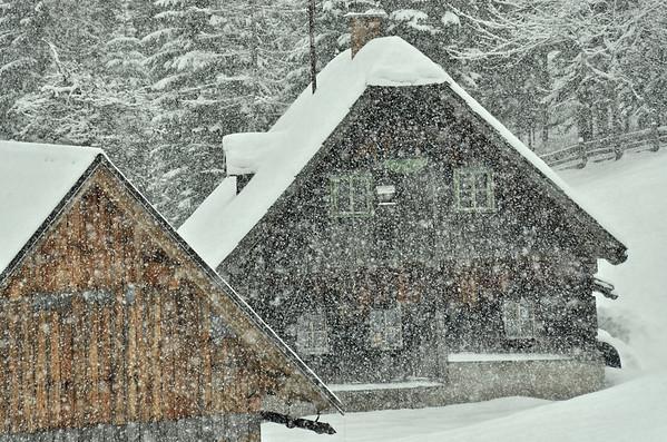 Heavy snow, Lichtenegg