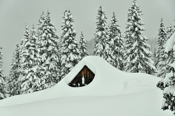 Insulated in isolation: Happelhütte