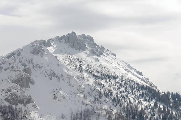 Skitour onto Griesmauer, Präbichl