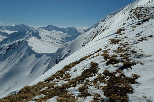 Felskarspitze skiing tour