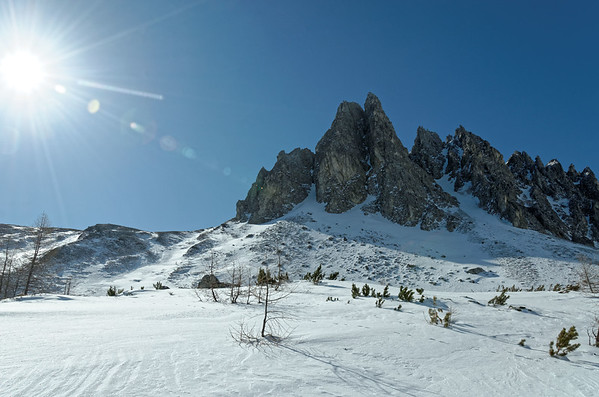 Seewand,  Felskarspitze skiing tour