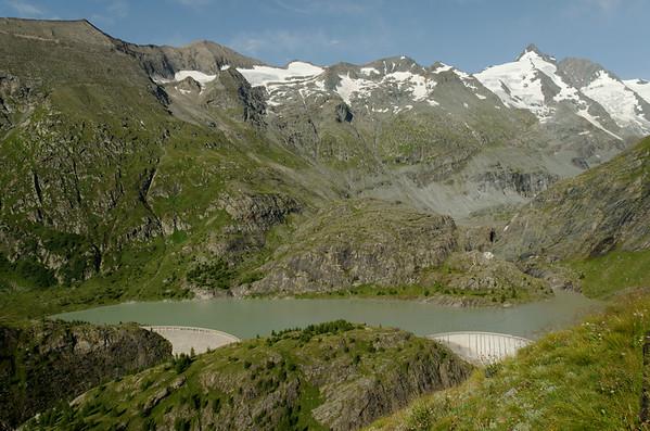 Maragritzenstausee and Großglockner