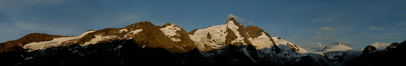Großglockner at sunrise, 3798m