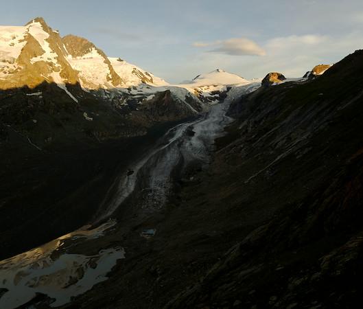 Großglockner over Pasterzenvalley