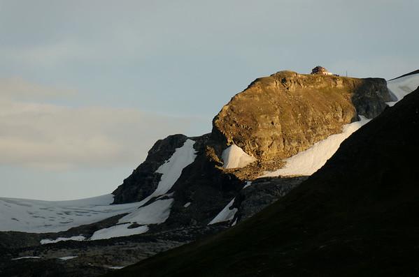 Oberwalderhütte 2972m on Hoher Burgstall