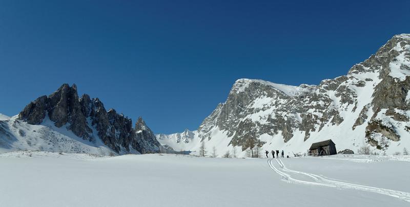 'In der Hölle', Felskarspitze skiing tour