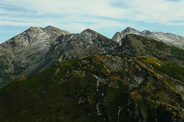 Hochheide 2363m, Moserspitz 2230m, Dreistecken 2382m