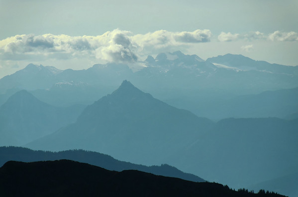 Kammspitz and Dachstein from RottenmannerTauern