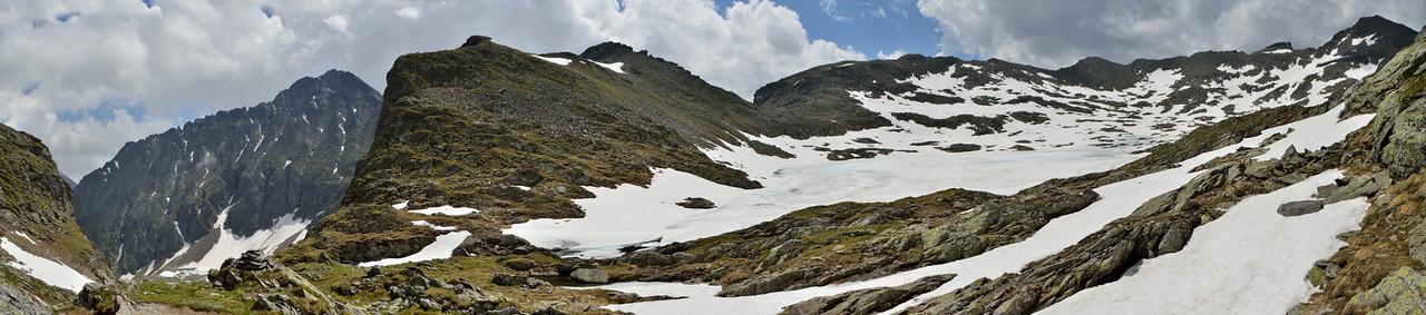 Looking at Oberer Klafferkessel, 2311 m