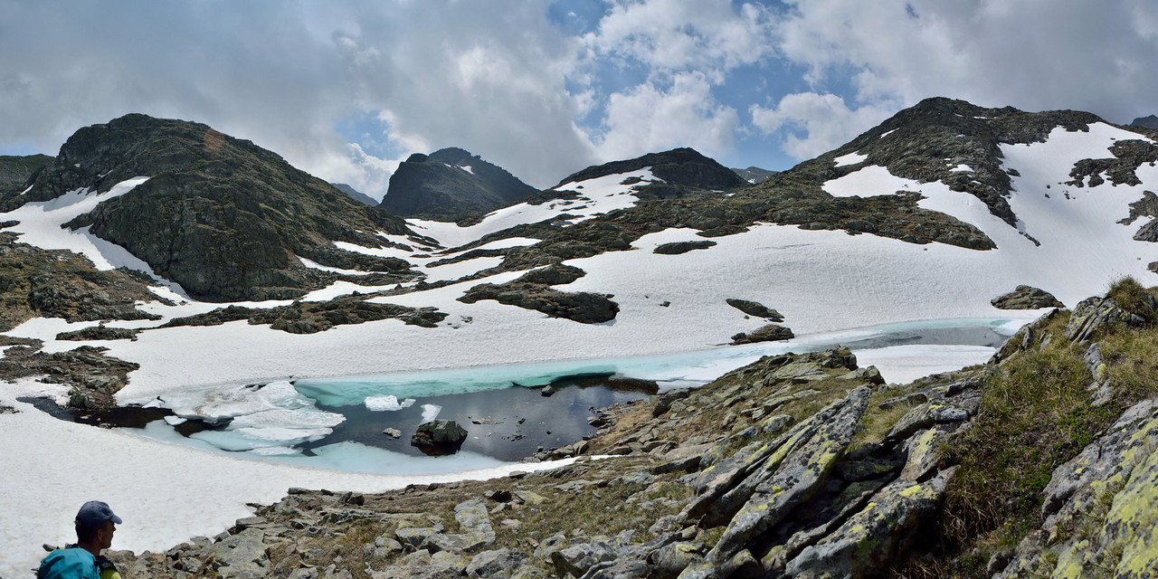 Klafferkessel ice scenery in late Spring