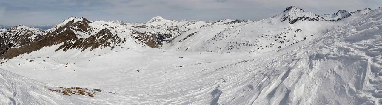 Overlooking Mur source valley