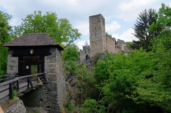 Thaya river valley near Hardegg, Austria