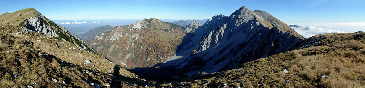 Hochstuhl with Bärental and Matschacher Alm