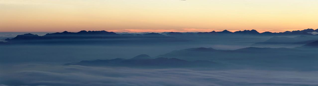 Bohinj mountain range