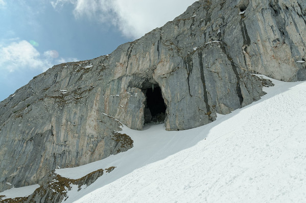 Tauernscharte skiing tour