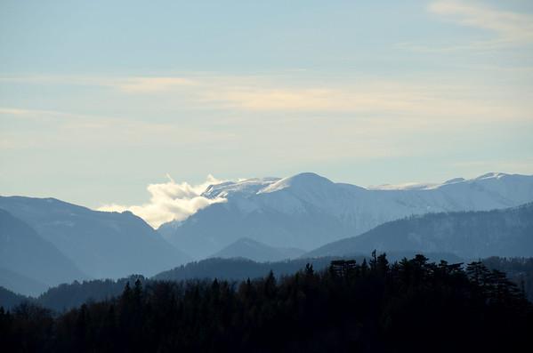 Schneealpe seen from Gaisstein