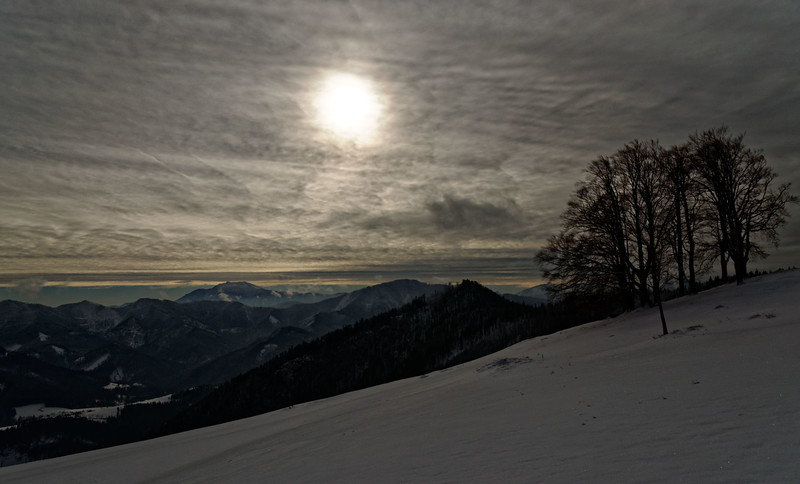 Winter tour to Hochstaff in Lower Austria's Voralpen
