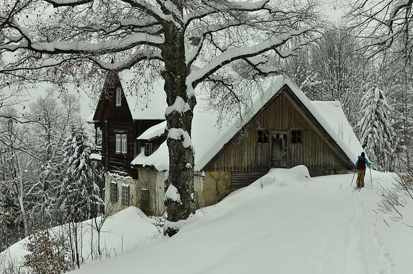 Old farmhouse, Reisalpe