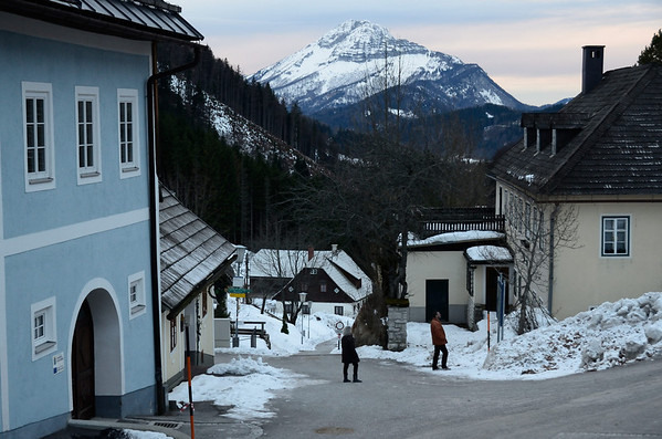 Crossing from Eibel to Tirolerkogel
