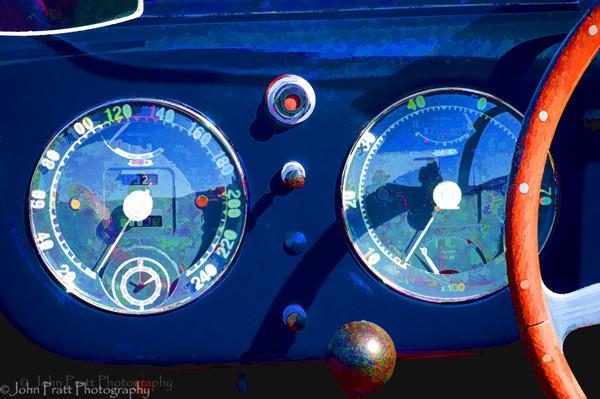 """""""Dashboard""""<br /> 1953 Ferrari 250 Mille Maglia"""