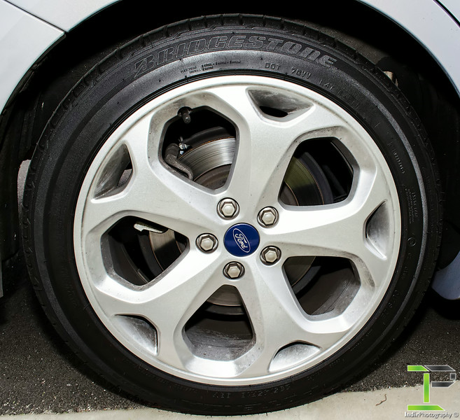 18 Inch 5 Spoke Ford Alloy Wheels