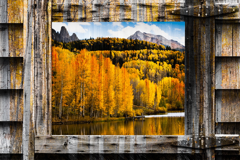 The door to autumn is opening.  I have just added a new gallery of Autumn Composites to my website.