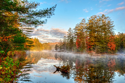 Autumn Adirondack Pond