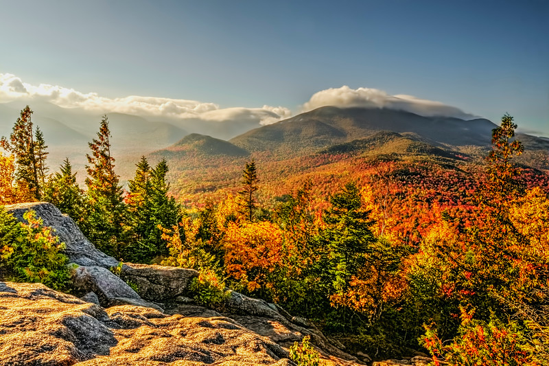 Autumn from Mt. Jo in the Adirondacks