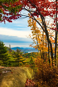 Fall Foliage from Bald Mountain
