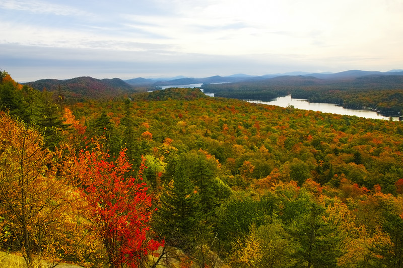 Fourth Lake from Bald Mountain