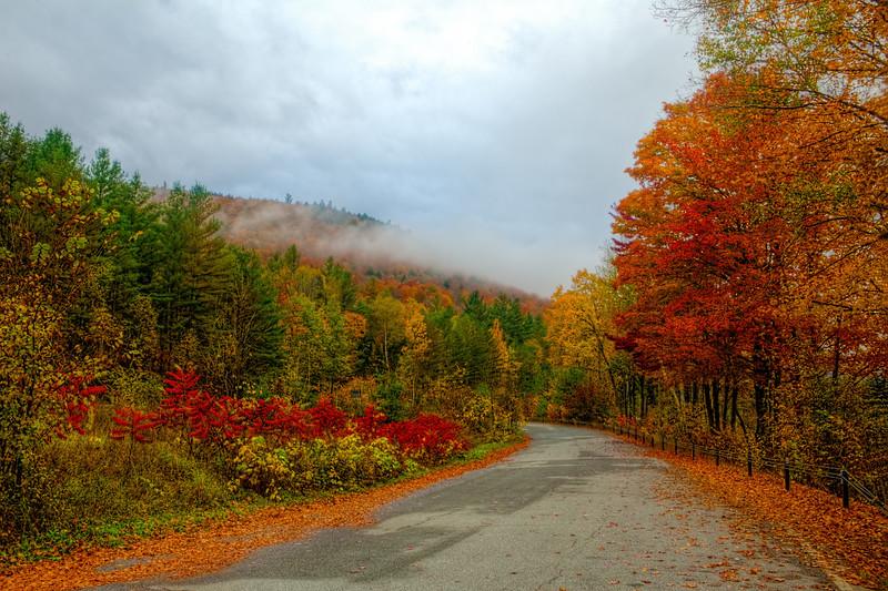 Autumn Adirondack Backroads