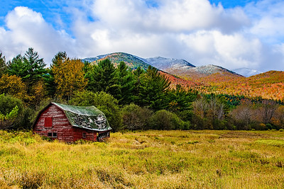 Red Barn in Keene