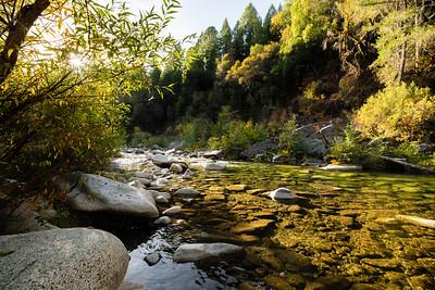 Fall on the Yuba River