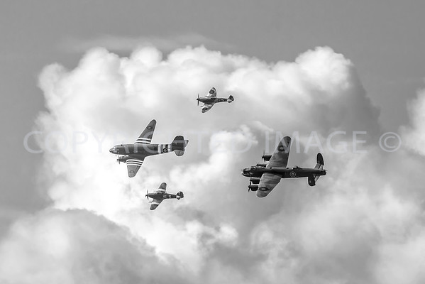 Battle of Britain Memorial Flight Trenchard Display 2018