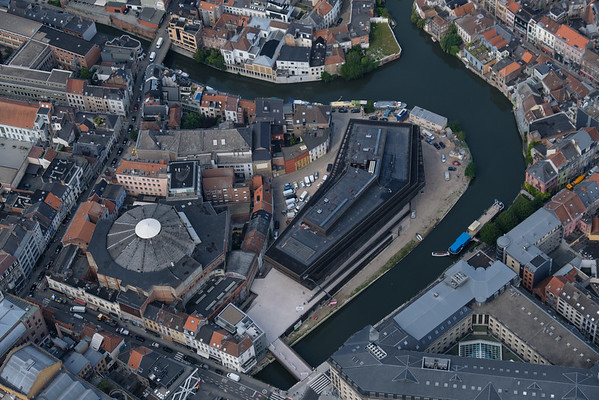 Ghent from 1000 feet