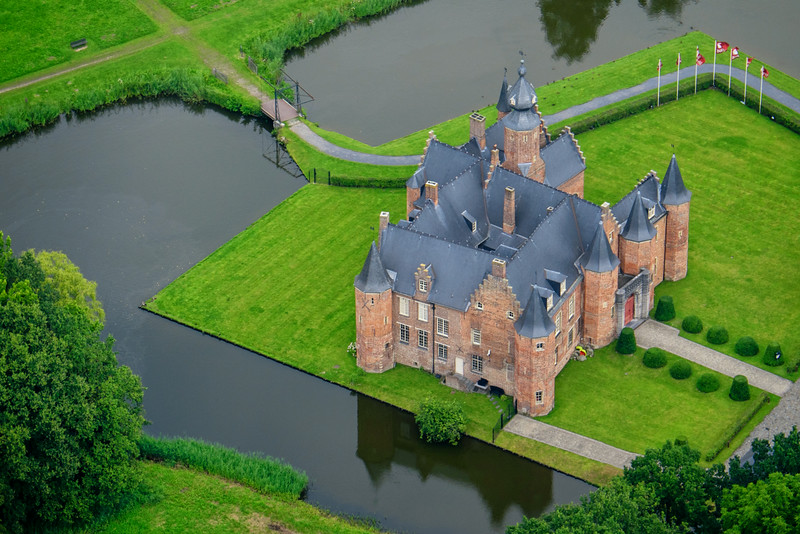 Castle of Rumbeke, Belgium