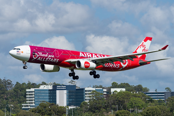 MMPI_20200216_MMPI0063_0033 - AirAsia X Airbus A330-343 9M-XXA as flight D7200 on approach to Gold Coast Airport (YBCG) ex Kuala Lumpur (WMKK).
