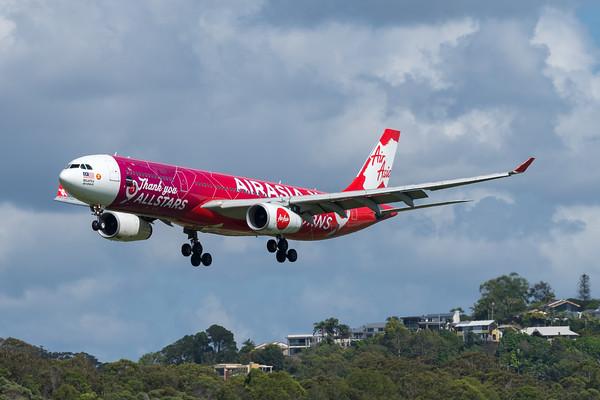 MMPI_20200216_MMPI0063_0031 - AirAsia X Airbus A330-343 9M-XXA as flight D7200 on approach to Gold Coast Airport (YBCG) ex Kuala Lumpur (WMKK).