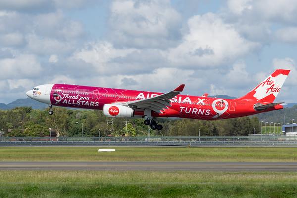 MMPI_20200216_MMPI0063_0035 - AirAsia X Airbus A330-343 9M-XXA as flight D7200 on approach to Gold Coast Airport (YBCG) ex Kuala Lumpur (WMKK).