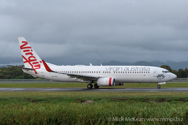 MMPI_20200208_MMPI0063_0003 - Virgin Australia Boeing 737-8FE VH-YFL as flight VA726 taxies from Gold Coast Airport (YBCG) bound for Melbourne (YMML).