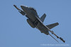 RAAF EA-18G Growler Banking