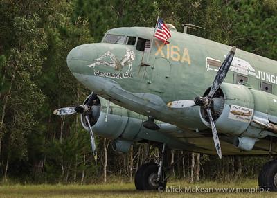 MMPI_20180421_MMPI0048_0253 - Douglas C-47 Dakota owned by Pacific Dakota Restorations on static display at TAVAS GWFD 2018.