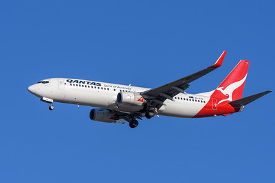 as flight QF532 on approach to YBBN ex YSSY