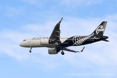 MMPI_20200126_MMPI0063_0001 - Air New Zealand Airbus A320-271N ZK-NHA as flight NZ861 on approach to Brisbane (YBBN) ex Queenstown (NZQN).