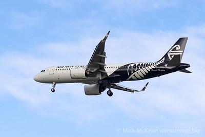MMPI_20200126_MMPI0063_0001 - Air New Zealand Airbus A320-271N ZK-NHA as flight NZ861 on approach to Brisbane (YBBN) ex Queenstown (NZQN).