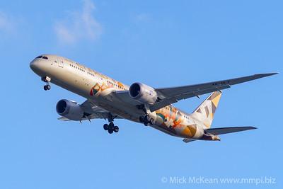 "MMPI_20200126_MMPI0063_0007 - Etihad Airways Boeing 787-9 Dreamliner A6-BLT ""Choose Italy"" livery as flight EY484 on approach to Brisbane (YBBN) ex Abu Dhabi (OMAA)."