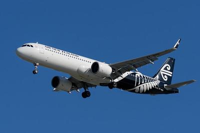 MMPI_20200202_MMPI0063_0013 - Air New Zealand Airbus A321-271NX ZK-NNG as flight NZ739 on approach to Brisbane (YBBN) ex Auckland (NZAA).