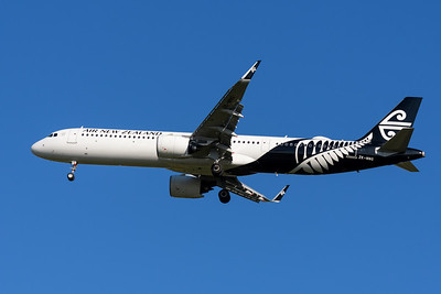 MMPI_20200202_MMPI0063_0015 - Air New Zealand Airbus A321-271NX ZK-NNG as flight NZ739 on approach to Brisbane (YBBN) ex Auckland (NZAA).