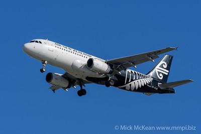 MMPI_20200202_MMPI0063_0008 - Air New Zealand Airbus A320-232 ZK-OJB as flight NZ861 on approach to Brisbane (YBBN) ex Queenstown (NZQN).