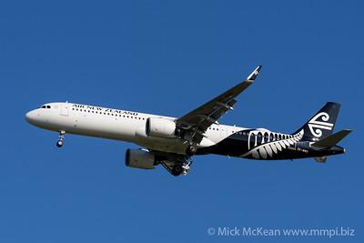 MMPI_20200202_MMPI0063_0014_ME - Air New Zealand Airbus A321-271NX ZK-NNG as flight NZ739 on approach to Brisbane (YBBN) ex Auckland (NZAA).